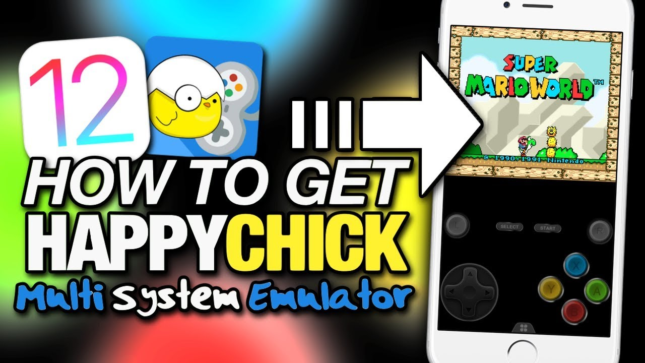 How To Get HAPPYCHICK On iOS 12 - MULTI SYSTEM EMULATOR For iPhone