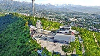 Алматы, Кок-Тобе с высоты птичьего полета 2017