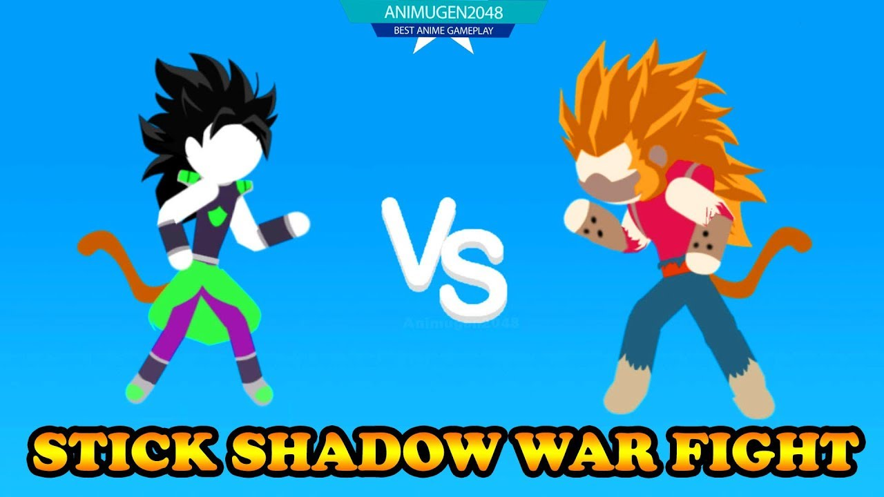 💛 UNLOCK BROLY UPDATE NEW SKILL💛 STick Shadow War Fight GOKU APK#6 | Android Gameplay #FHD  #Smartphone #Android