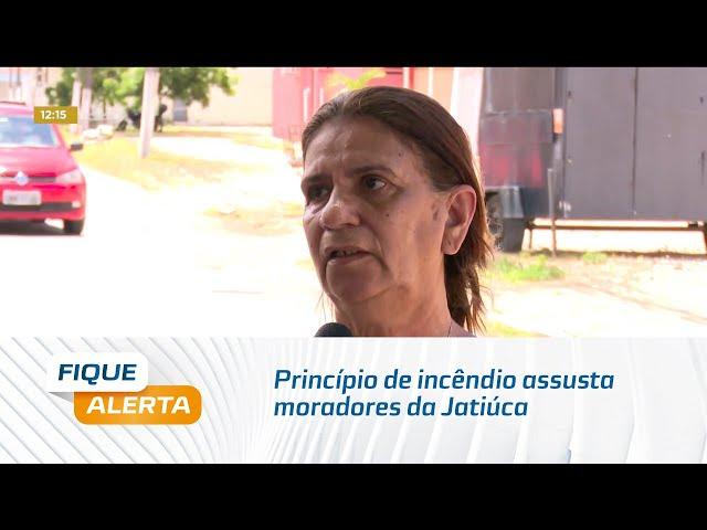 Princípio de incêndio assusta moradores da Jatiúca