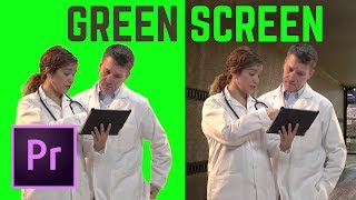 HOW TO Green Screen (Chromakey) Premiere Pro CC | Educational