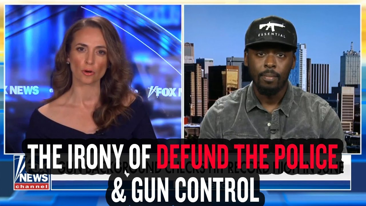 The Irony of Defund the Police & Gun Control