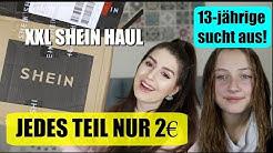 SHEIN HAUL jedes Teil nur 2€ 13-jährige sucht HAUL aus