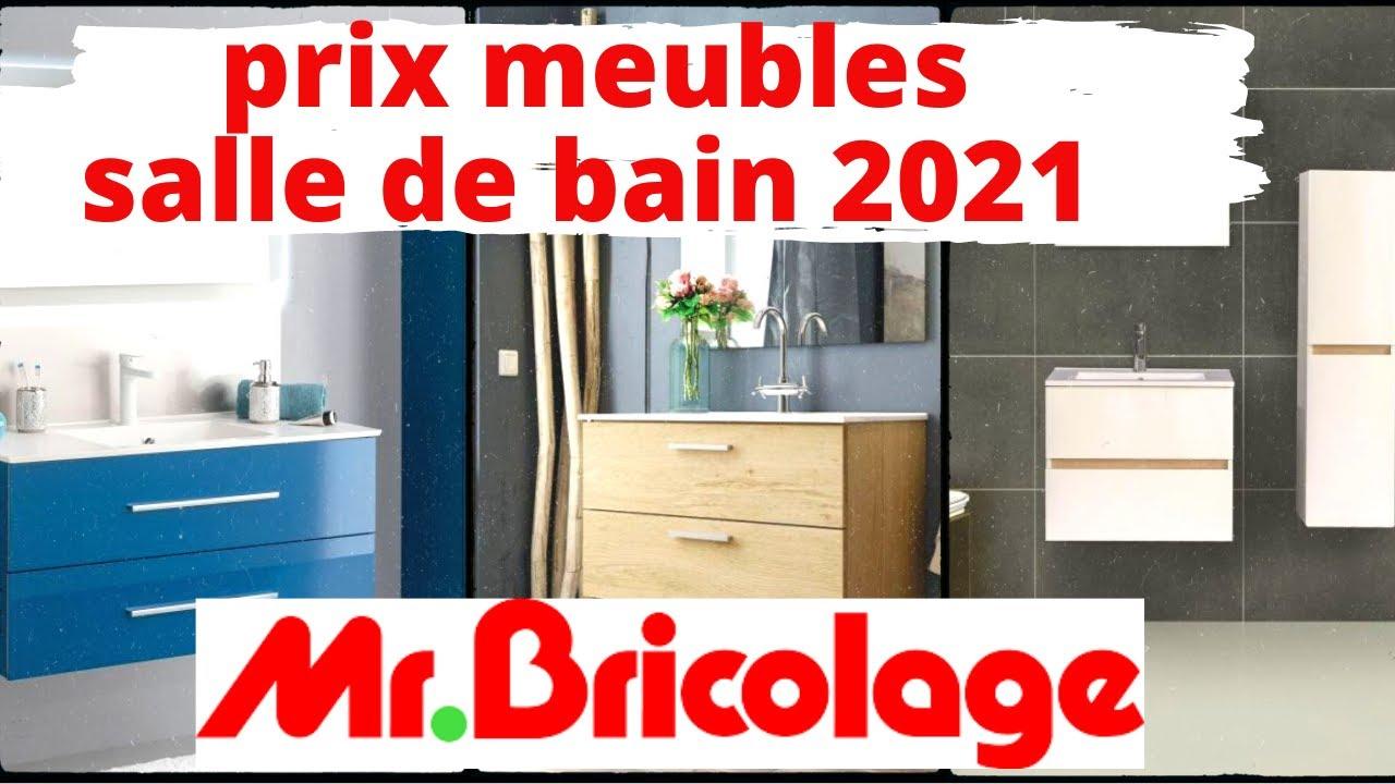 Prix Meuble Salle De Bain 2021 Mr Bricolage Youtube
