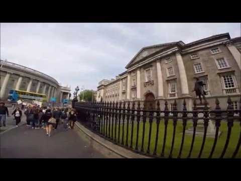 Trinity College Tour, Dublin, Ireland