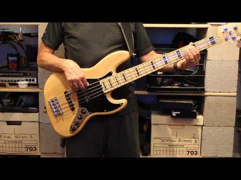 Eagles(Live) - Heartache Tonight (Bass Cover)