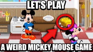 Making Mickey Mouse Do Mundane Chores - PushingUpRoses (ft. LGR)