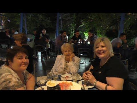 Yerevan, 16.09.18, Su, Video-3, (на рус.), Церковь, ресторан, фонтан, встреча