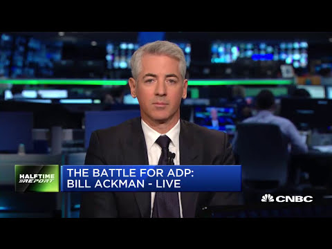 Bill Ackman Talks About ADP (FULL INTERVIEW)