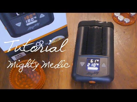Mighty Medic (Inhalation von Cannabis – Tutorial)