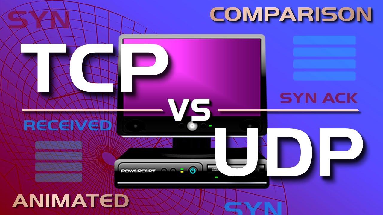 TCP vs UDP Comparison - YouTube
