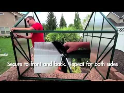 Charley's Greenhouse & Garden Grandio Ascent Greenhouse Kit