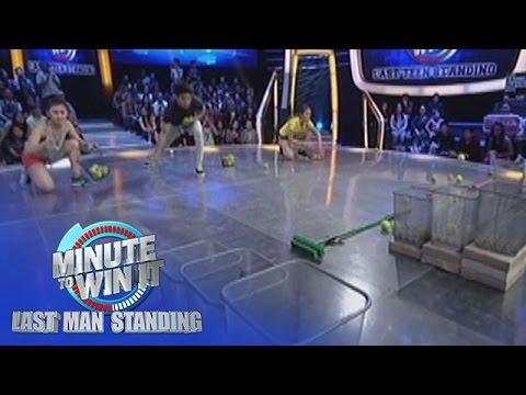 Broomski Ball | Minute To Win It - Last Teen Standing