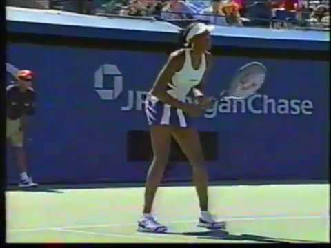 2002 US Open 4R Venus Williams vs Chanda Rubin