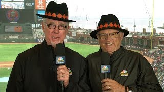 SFGiants Funniest Broadcast Moments
