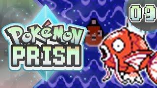 Pokemon Prism Part 9 MAGIKARP MAZE! Gameplay Walkthrough ( Pokemon Rom Hack )