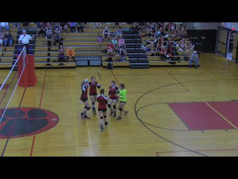 Whitman Hanson volleyball vs North Quincy 10-10-2017