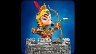 Tiny Romans Castle Defense - Archery Games