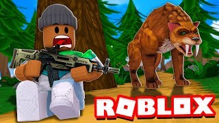 I went HUNTING for the RAREST ANIMALS in Roblox Hunting Simulator 2!