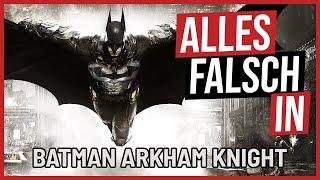Alles falsch in BATMAN Arkham Knight 🛎️ GameSünden [Satire]
