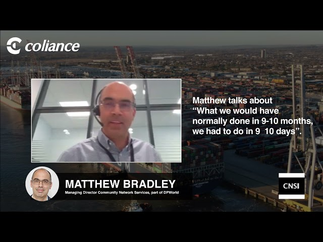 Coliance talk to CNS - What we did in 9 - 10 days