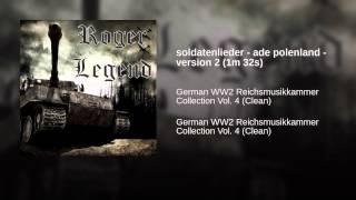 soldatenlieder - ade polenland - version 2 (1m 32s)