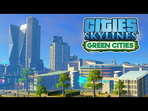 Green Power & University! – Cities Skylines Green Cities Gameplay – Let's Play Part 8