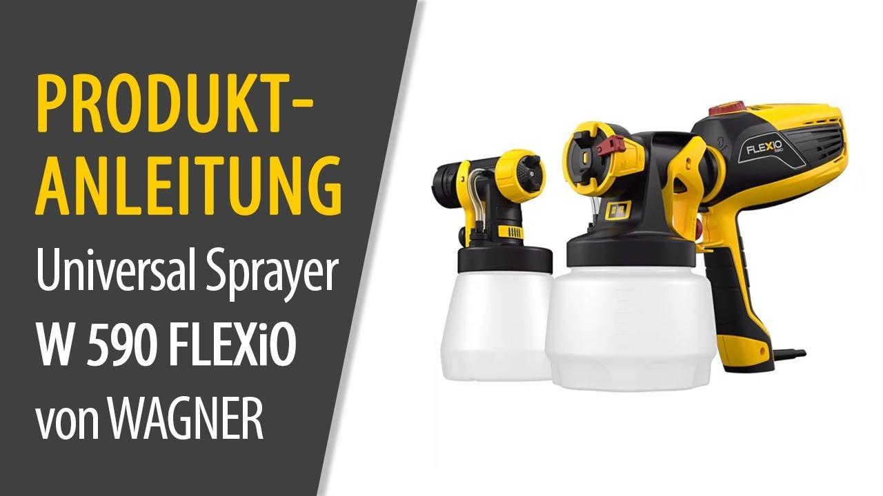 Universal Sprayer W 590 Flexio Von Wagner Produktanleitung Youtube