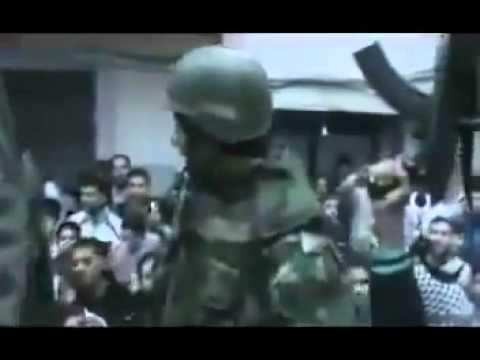 Wadi Al-Arab | Homs | Group of soldiers defect and join anti-regime protest - FSA
