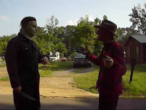 Michael Myers VS. Freddy Krueger VS. Jason Voorhees: Part 2 (1 of ...