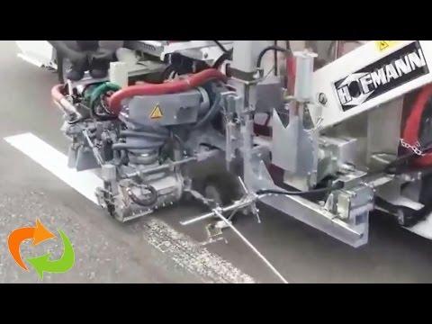 Impressionné par la dernière technologie de peinture de ligne!