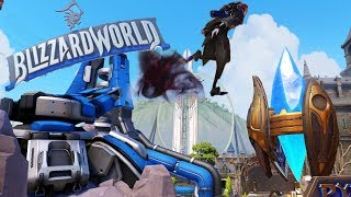 Суперпрыжок гайд | Мойра новый герой саппорт хилер overwatch на Blizzard World близзардворлд