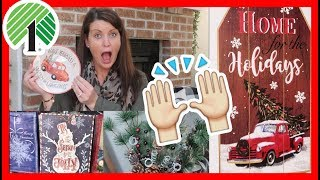 YES! 🙌🏼 DOLLAR TREE CHRISTMAS FINDS | HAUL & NEW FARMHOUSE ITEMS 🎄