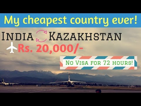 Kazakhstan Travel Guide | Prices | Visa | Flights | Places (Hindi)