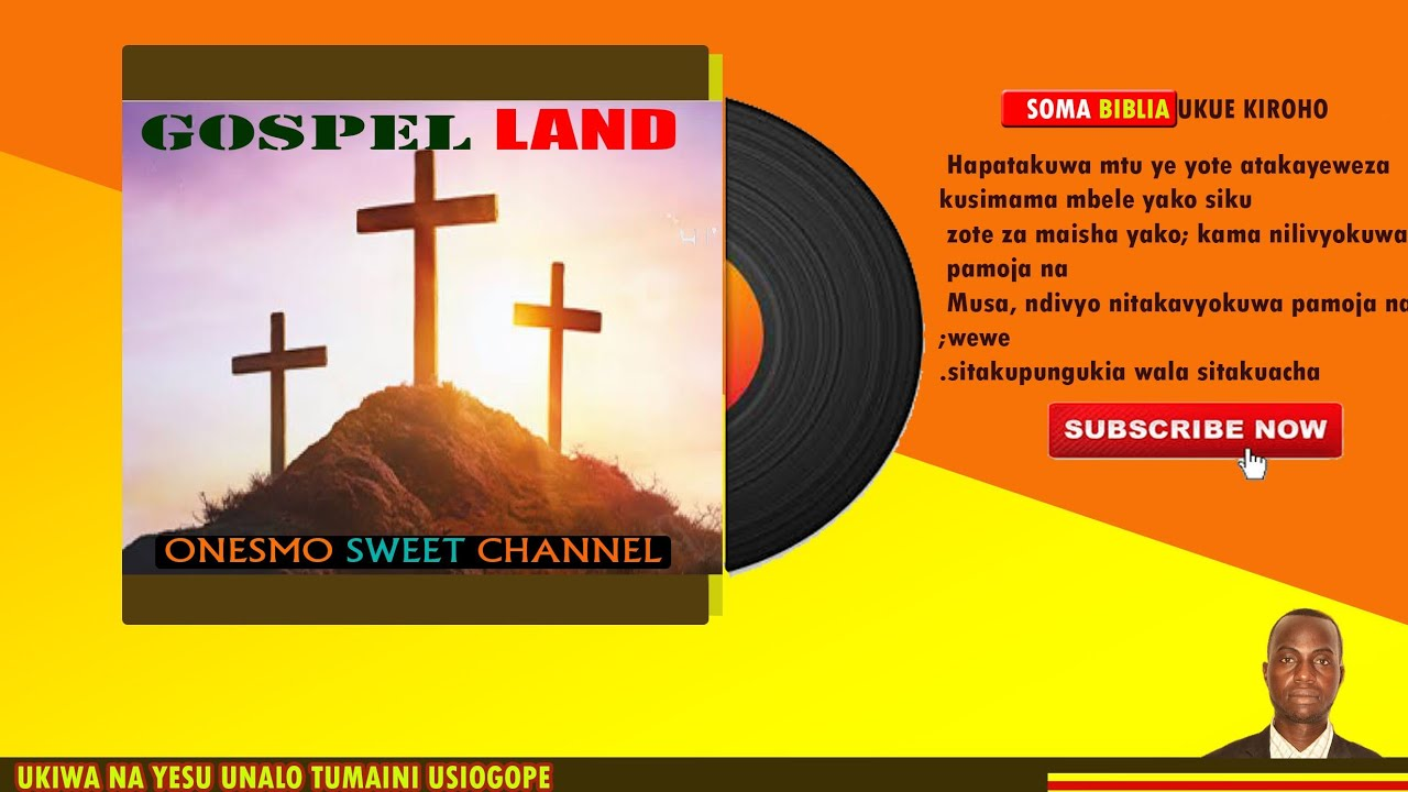 Biblia Takatifu Kitabu Cha Maombolezo Gospel Land Officially Onesmo Sweet Channel Youtube