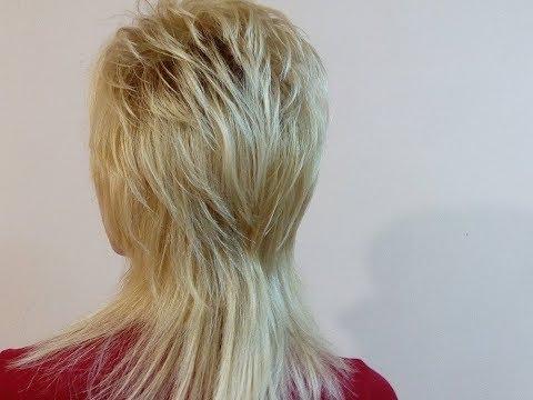 Шапочка на длинные волосы(стрижка ножницами)
