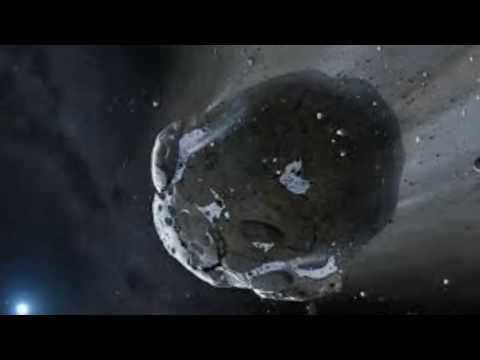 TO The ground approaching asteroid. dangerous asteroids approaching the earth, space threat