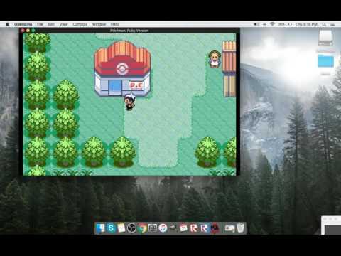 download pokemon fire red mac