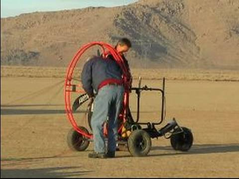 How To Fly a Powered Paraglider Trike : Flying an Ultralight Trike