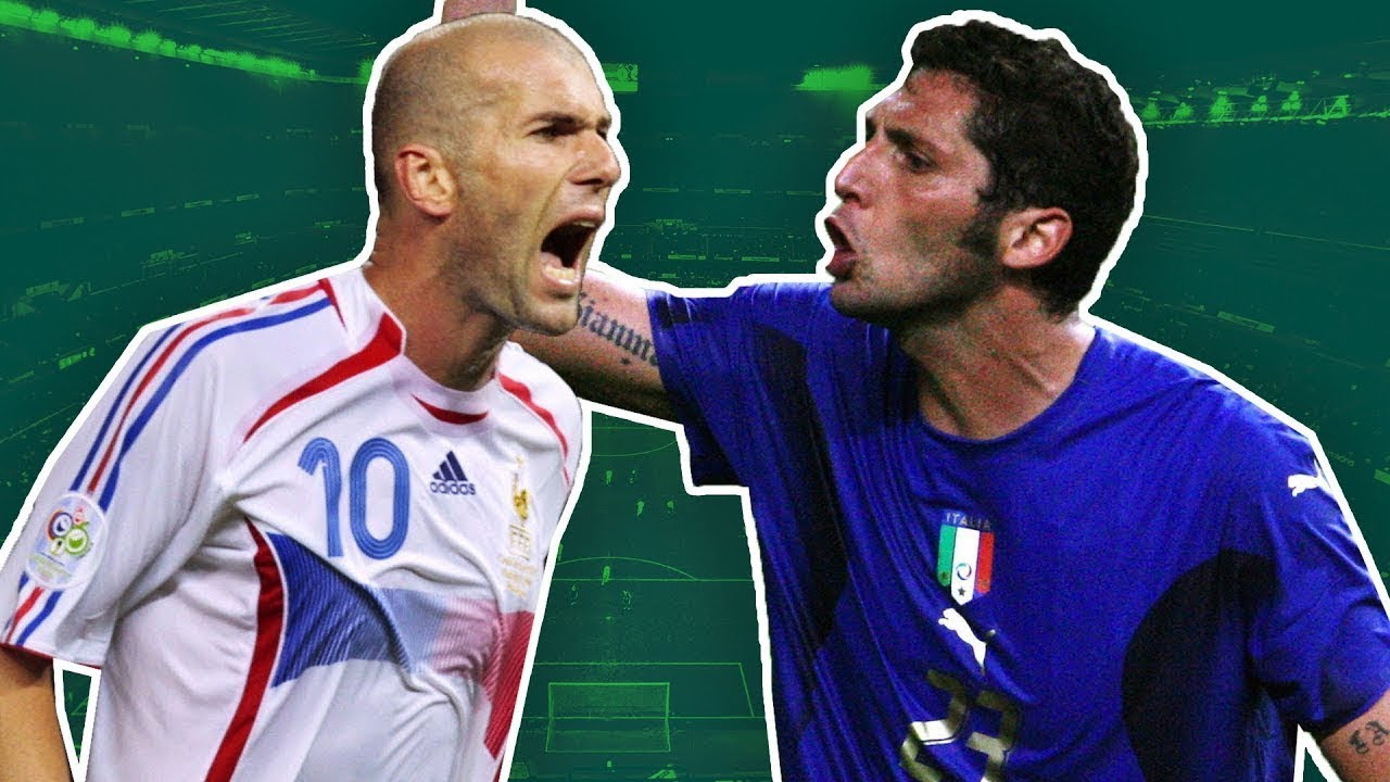 Wm Finale 2006 Zidane Vs Materazzi Wie Horacio Elizondo Zizous Karriere Beendete