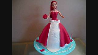 Ariel Disney Princess Doll Cake