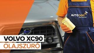 Hogyan cseréljünk Olajszűrő VOLVO XC90 I - online ingyenes videó