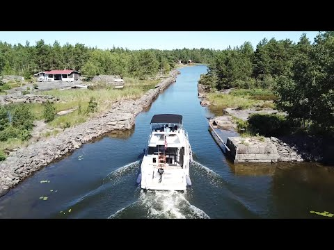 Dalsland Canal in Sweden The most beautiful waterways in Europe!