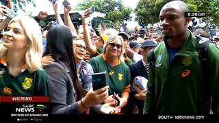 RWC Trophy tour | Springboks fever hits Durban - update with Ayanda Mhlongo