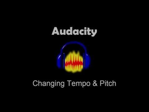 Advanced Audacity Tutorial: Changing Tempo and Pitch