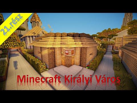 Minecraft Királyi város 21.rész