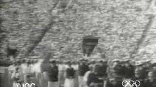 1932 Los Angeles Olympics Opening Ceremony