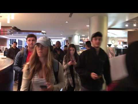 Thousands Of Protesters Storm University Of Michigan Library