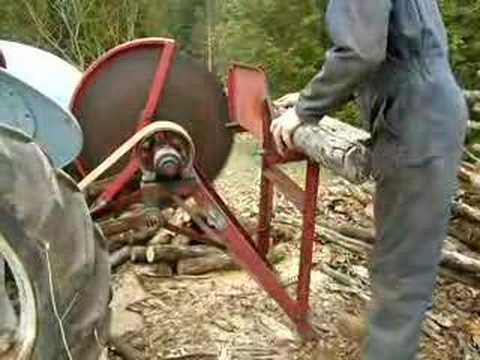 Самодельная пилорама на трактор 132