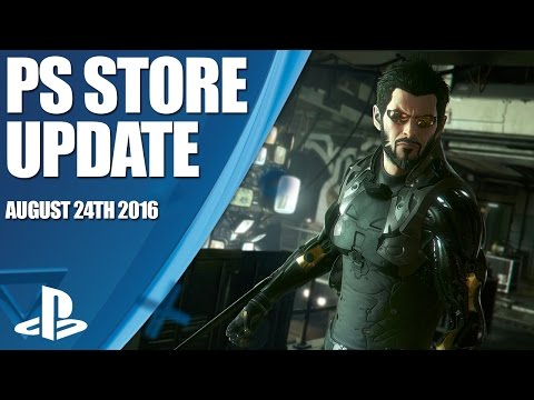 PlayStation Store Highlights - 24th August 2016